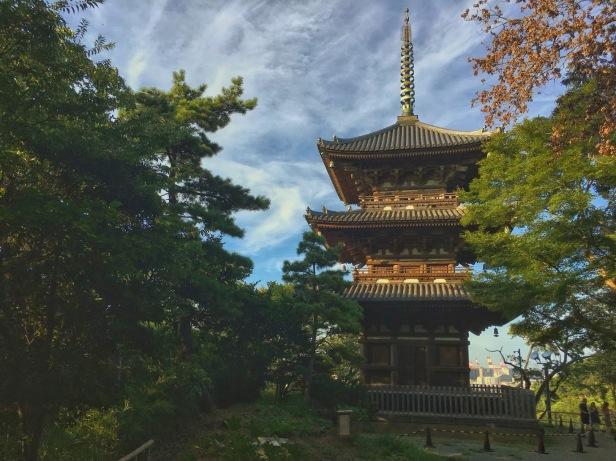 三渓園 三重塔